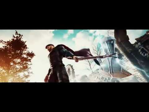 Kratos Vs Thor First Look Out Now God Of War Ps4