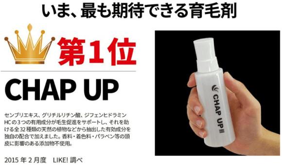 育毛剤CHAP UP01