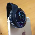 ライブ動画撮るために、iPhone6Plus用にMozeatの超広角レンズ238°を購入してみたら、すんごい広かった。